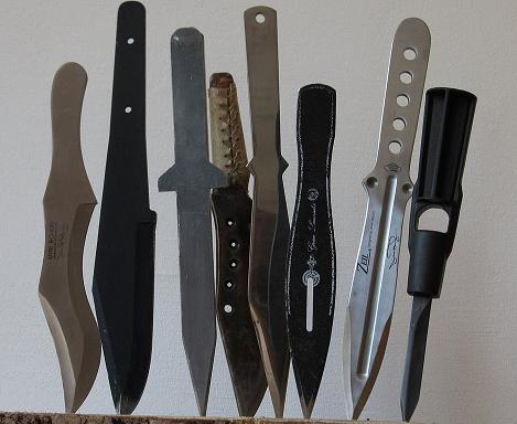 Простые боевые ножи и кинжалы